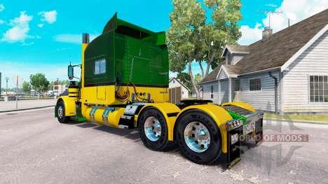 Guzman Express de la peau pour le camion Peterbi pour American Truck Simulator