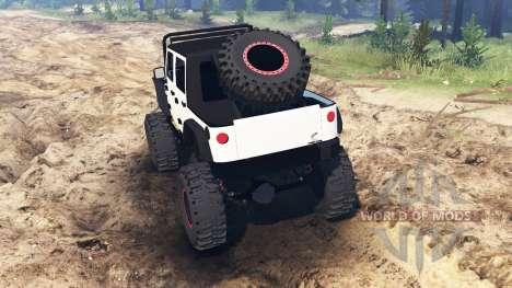 Jeep Wrangler [rattle trap] für Spin Tires