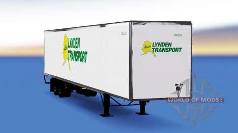 De tous les métaux semi-Lynden pour American Truck Simulator