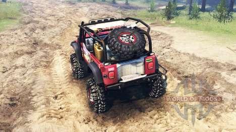 Jeep Wrangler pour Spin Tires
