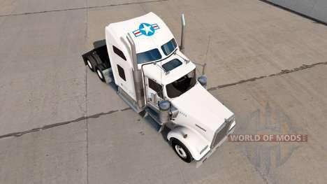 Haut für USA LKW truck Kenworth W900 für American Truck Simulator
