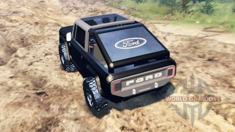Ford Bronco Concept pour Spin Tires