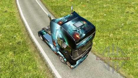 PC Ware peau pour Scania camion pour Euro Truck Simulator 2