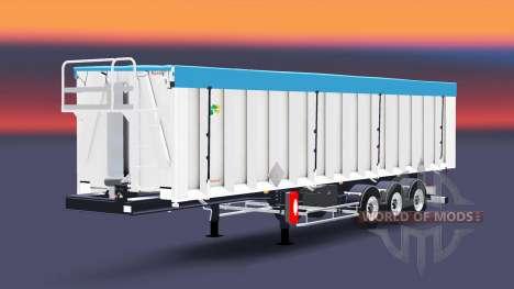 La semi-remorque Benalu benne pour Euro Truck Simulator 2