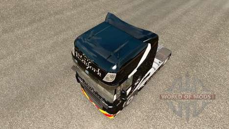Pitchfork skin für den DAF-LKW für Euro Truck Simulator 2
