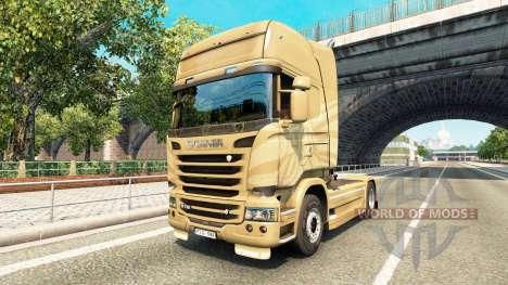 Haut über 50-jährigen Jubiläum Zugmaschine Scani für Euro Truck Simulator 2