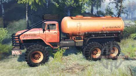 Ural-4320 Polar Explorer v7.0 pour Spin Tires