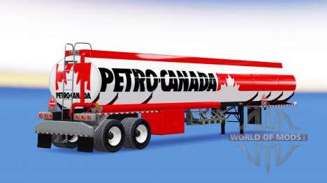 Skin Petro Canada fuel semi-trailer für American Truck Simulator
