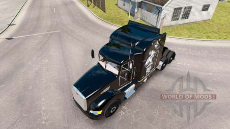Motorhead-skin für den truck Peterbilt 386 für American Truck Simulator
