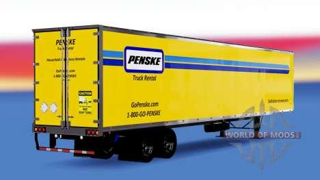 Penske de la peau pour la remorque pour American Truck Simulator