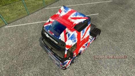 L'Angleterre Copa 2014 de la peau pour Volvo cam pour Euro Truck Simulator 2