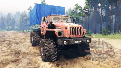Ural-4320-41 pour Spin Tires