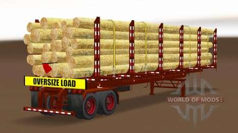 Eine Sammlung von Anhänger USA v2.0 für American Truck Simulator