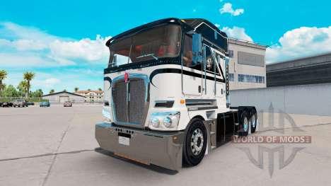 Haut Ace Of Spades auf Traktor Kenworth K200 für American Truck Simulator