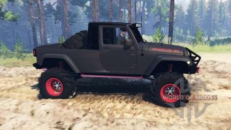 Jeep Wrangler JK8 pour Spin Tires