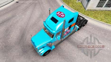 Haut Petty 43 Zugmaschine Freightliner Coronado für American Truck Simulator