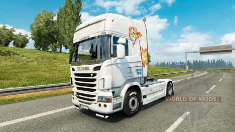 Petit Poney de la peau pour Scania camion pour Euro Truck Simulator 2