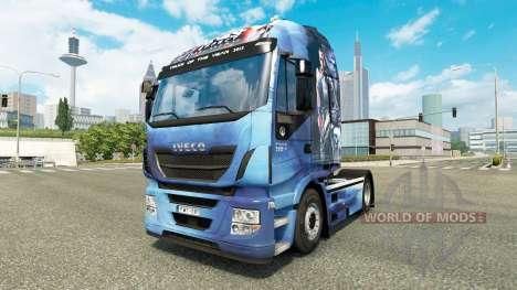 La peau un Effet de Masse pour camion Iveco Hi-W pour Euro Truck Simulator 2