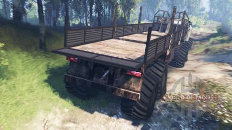 Ural-4320 [grizzly] v3.0 pour Spin Tires
