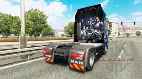La peau un Effet de Masse pour tracteur HOMME pour Euro Truck Simulator 2