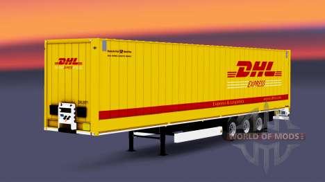 Semitrailer Couronne Dryliner pour Euro Truck Simulator 2
