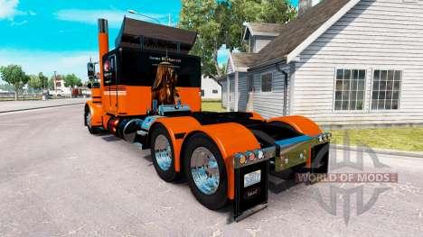 Iwona Blecharczyk skin für den truck-Peterbilt 3 für American Truck Simulator