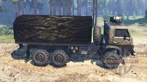 KamAZ-4310 [Militär -] v2.0 für Spin Tires