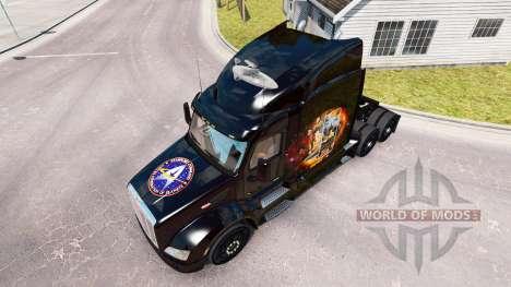 Star Trek skin für den truck Peterbilt für American Truck Simulator