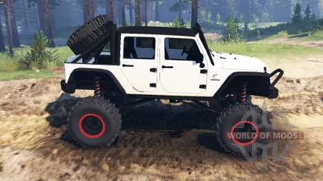 Jeep Wrangler [rattle trap] pour Spin Tires