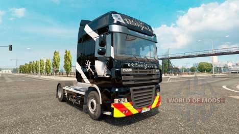 Fourche de la peau pour DAF camion pour Euro Truck Simulator 2