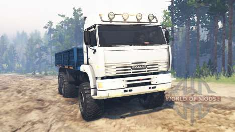 KamAZ-65221 v2.0 pour Spin Tires