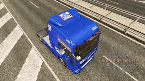 Aldi skin für MAN-LKW für Euro Truck Simulator 2