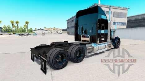 Haut Stevens-Transport-LKW Kenworth W900 für American Truck Simulator