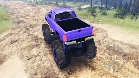 Dodge Ram 2500 für Spin Tires