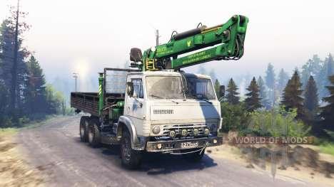 KamAZ-53212 v3.0 für Spin Tires