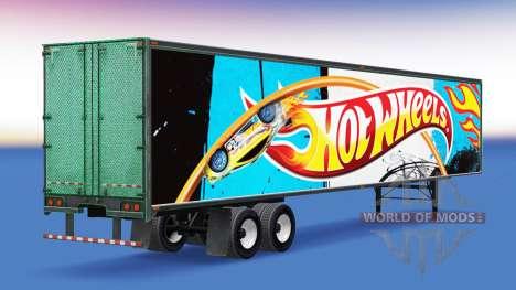 De tous les métaux semi-Hot Wheels pour American Truck Simulator