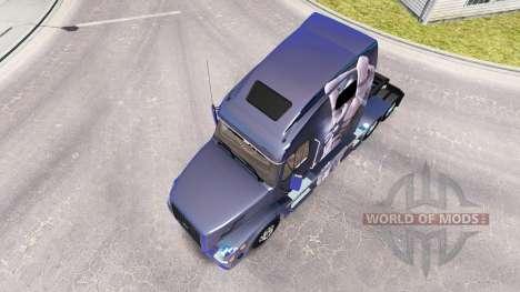 La fantaisie de la peau pour les camions Volvo V pour American Truck Simulator