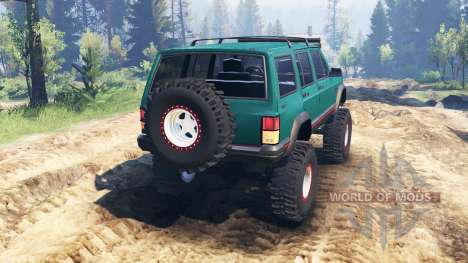 Jeep Cherokee XJ 1996 v2.0 pour Spin Tires