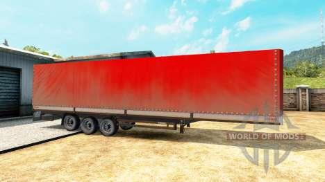 Curtain-side-Sattelanhänger Kögel für Euro Truck Simulator 2