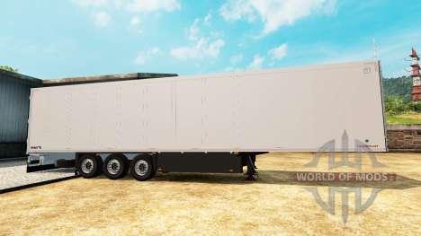 Frigorifique semi-remorque Schmitz Cargobull pour Euro Truck Simulator 2