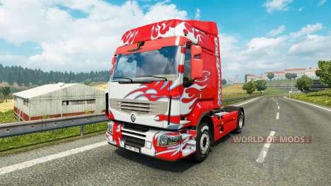 Haut Klanatrans für Traktor Renault für Euro Truck Simulator 2