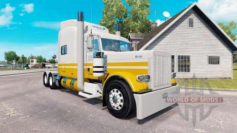 La peau United Van Lines pour le camion Peterbil pour American Truck Simulator