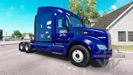 Der Onkel D Logistik-skin für den truck Peterbil für American Truck Simulator