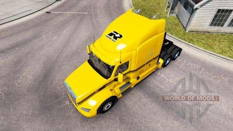 Groupe Robert de la peau pour le camion Peterbil pour American Truck Simulator