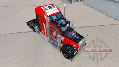 Haut auf Südost-truck Kenworth W900 für American Truck Simulator