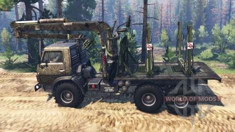 KamAZ-4310 [Militär] v3.0 für Spin Tires