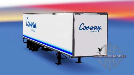 All-Metall-semi-trailer Conway für American Truck Simulator