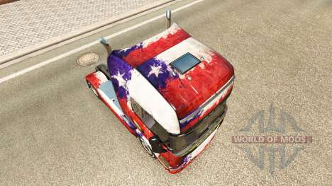 Die Chile-Copa 2014 skin für Scania-LKW für Euro Truck Simulator 2