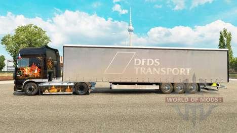 Semitrailer Couronne Paperliner pour Euro Truck Simulator 2