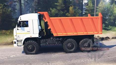KamAZ-65111 für Spin Tires